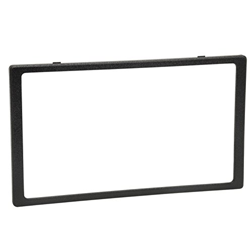 Scosche HA1561TRB Compatible with 2006-11 Honda Civic ISO Double DIN Trim Ring; Models w/Nav , black