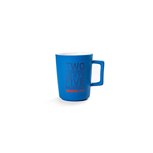 Skoda MVF76-253 Original RS Tasse Porzellan Becher, blau