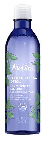 Melvita Eau Micellaire Bio Bouquet Floral Detox Démaquillant/Nettoyant Douceur