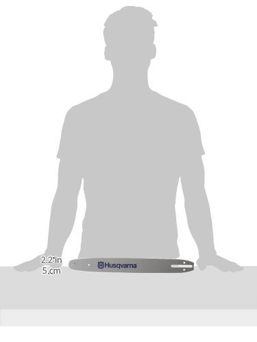 Husqvarna 531300445 16-Inch HL180-56 Lo-Pro Chain Saw Bar 3/8-Inch by .050-Inch