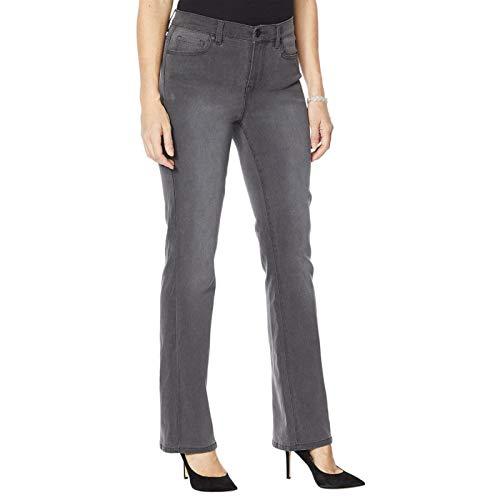 DG2 by Diane Gilman Women's Tall Embellished Pockets Jeans. 694695-Tall 18W Tall Gunmetal Gray