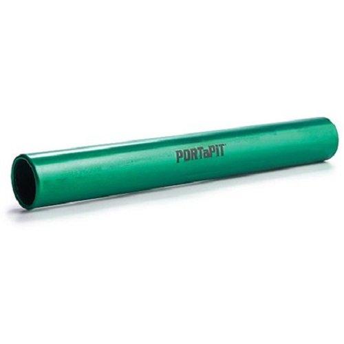PORT A PIT Aluminium Relais Taktstöcke, Unisex - Erwachsene, grün, Einheitsgröße
