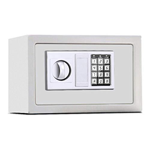 DJDLLZY Las cajas de efectivo y Casillas Gabinete Cajas fuertes completamente de acero Oficina Lock Mini Hogar Pequeño mecánico Caja de seguridad 310 * 200 * 200 mm for el hogar y la oficina (Color: B