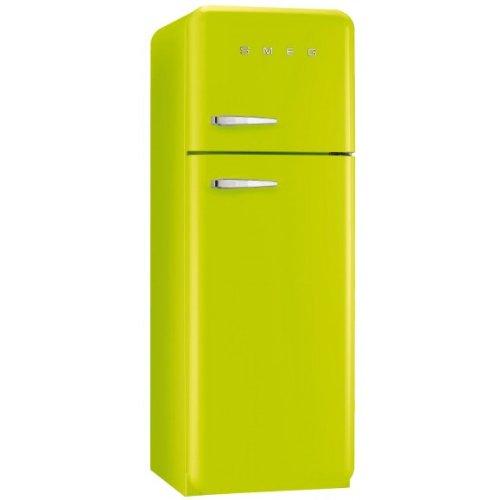 Smeg FAB30RVE1 Independiente 293L A++ Verde nevera y congelador - Frigorífico (293 L, SN-T, 3 kg/24h, A++, Compartimiento de zona fresca, Verde)