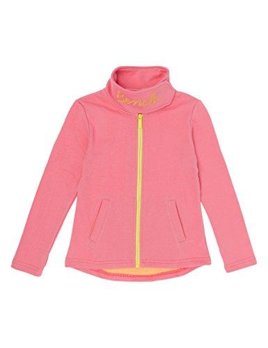 Bench Mädchen Funnel Sweat Sweatjacke, Rosa (Strawberry Pink Pk11480), 164 (Herstellergröße: 13-14)