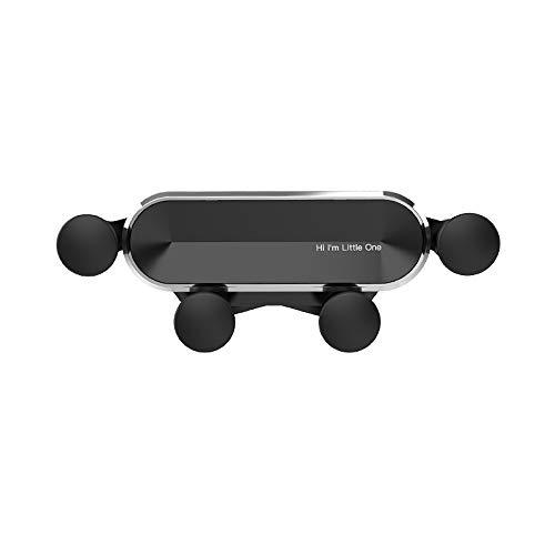 Tayar Handyhalterung für Auto, Schwerkraft Air Vent Universal-Kfz-Handyhalter Holder zubehör Lüftungsgitter smartphonehalter universalhalterung einhandbedienung (Silber)