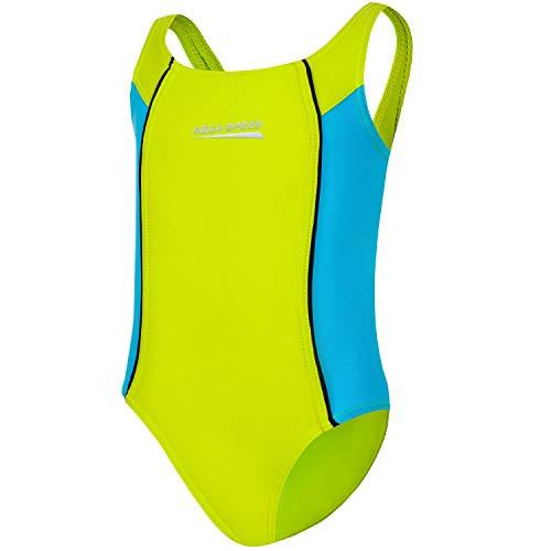 Aqua Speed Kostium kąpielowy dla dziewcząt i dzieci   jednoczęściowy strój kąpielowy dla dziewczynek z ochroną UV   jednoczęściowy   moda kąpielowa dla dzieci   strój kąpielowy   Swimsuits Once Piece Girls Kids   rozm. 104 – 158   Luna jasnozielony -