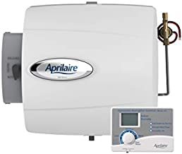 Aprilaire 500 Whole Home Humidifier, Automatic Compact Furnace Humidifier, Large Capacity Whole House Humidifier for Homes up to 3,000 Sq. Ft., white