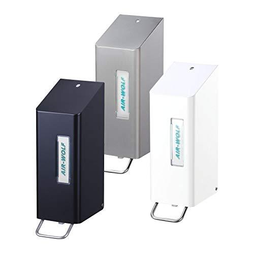 AIR-WOLF Seifen- und Desinfektionsmittelspender 0,6 Liter, weiß, Serie Omega
