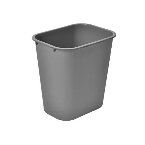 NYKK Küchen-Abfalleimer Haushalt Papierkorb Einfacher Papierkorb Großer Papierkorb, grau, 24L Mülltrennungssystem Abfallsammler (Größe : 35L)