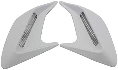 KGASYUI Car service Hood Vent Scoop 2pcs Side Design Shark Gill Auto sale