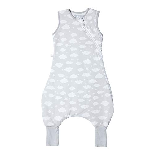 Tommee Tippee The Original Grobag Steppee Baby-Strampler, 18-36 Monate, 2,5 Tog, Happy Clouds, 60 g