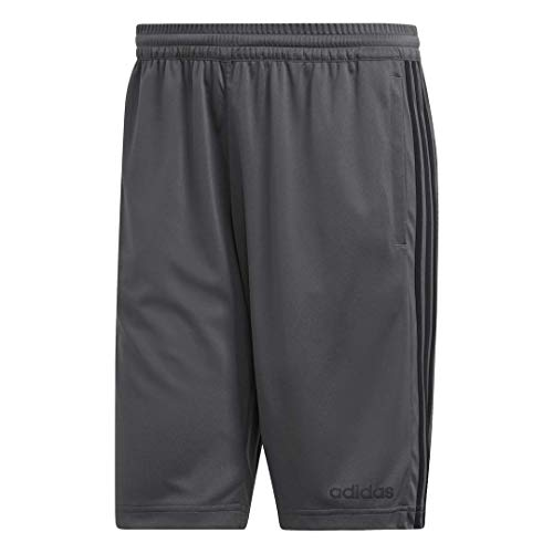 adidas Men's Design 2 Move Climacool 3-Stripes Training Shorts, Grey, Large
