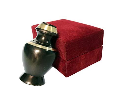 Sigma marine International Celebration of Life Mini-Urne für die Asche, 1 Stück Black Mate