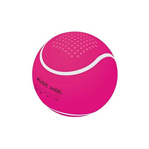 Altavoz Tenis Bluetooth, Altavoz Portátil Bluetooth Inalámbrico con Sonido HD Y Bajo, 4H Tiempo De Juego, Mini Altavoz para Al Aire Libre Al Aire Libre