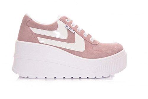 GO Sexy Deportivas Plataforma - Color - Rosa, Talla Zapatos Mujer - 38