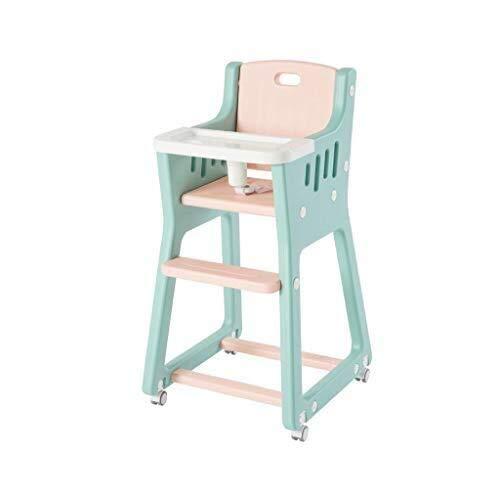 YDHYYDQCFJL Baby Kinderstoel - Baby Eetstoel Baby Kinderstoel Eetstoel Plastic Verstelbare Voedsellade Peuter Voeding Stoel