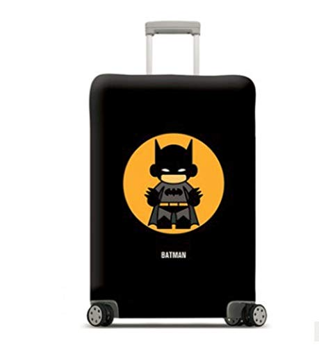Mitef Travel Luggage Sublimation Suitcase Dust Cover Cover Elastic Case Cover Thickened Not Easy to Wear,Batman,L
