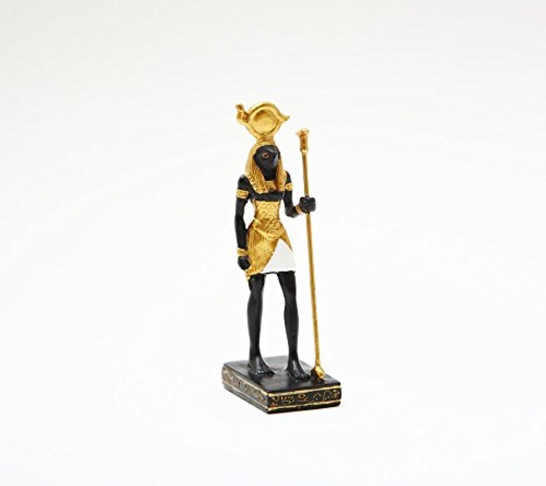¡no ser extrañado! Pacific Trading Casa de muecas Miniatura Egipto Egipto Egipto Egipcio Horus Estatua Heru Dios de Poder en Miniatura pequeo 3 Figura Decorativa.  precios mas bajos