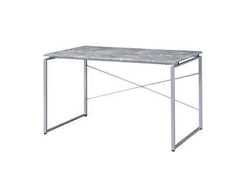 Acme Furniture Jurgen Desk, Faux Concrete