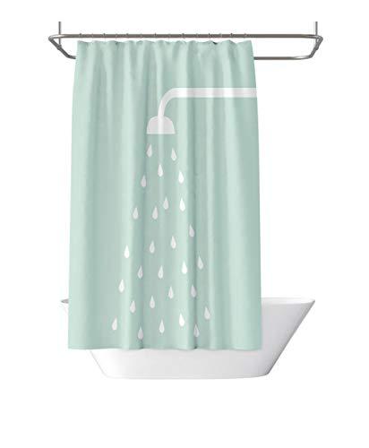 xinxin24 Polyester douchegordijn, schimmelvrij en waterdicht ontwerp badgordijnen voor douchecabine