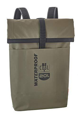Be Cool - Borsa termica isolata, impermeabile, per famiglia, viaggi, sport, moda e shopping, 65 x 23 x 12 cm, volume 20 l