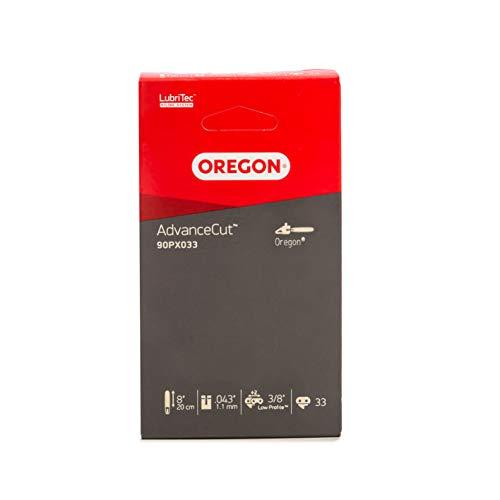 Oregon AdvanceCut 90PX Sägekette passend für 20 cm Bosch, for_q, Gardena, Gardol, Mr. Gardener, Pattfield, Ryobi Hochentaster, 33 Treibglieder