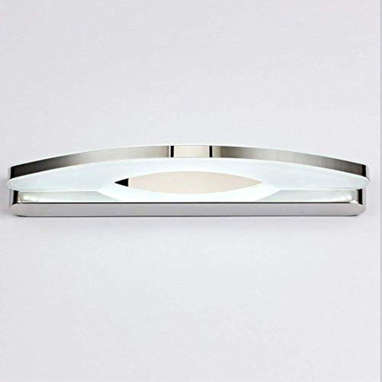 LED wasserdichte wandleuchte acryl wandleuchte edelstahl wandleuchte bad schminktisch wanddekoration wandleuchte (Farbe   Weies Licht-39cm)
