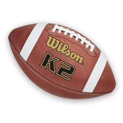 WILSON - Lizensierte Footballs in braun, Größe One Size Fits All