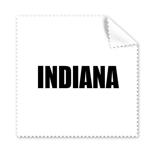 DIYthinker Indiana Amerika Stadt Name Brillenputztuch-Reinigungstuch Telefon Screen Cleaner 5Pcs Geschenk