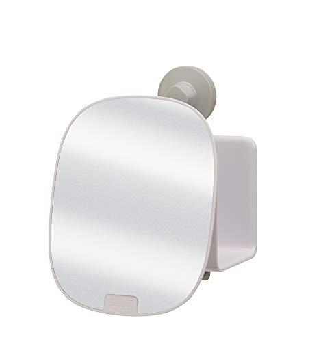 Joseph Joseph Estante para Ducha Compacto con Espejo Ajustable en Color Blanco EasyStore, Talla