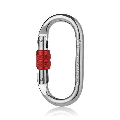 Hot Verrou Principal Dispositif de Protection extérieur Outil de sécurité Police Militaire Bouton o 25kn kabin Crochet à clé(Red)