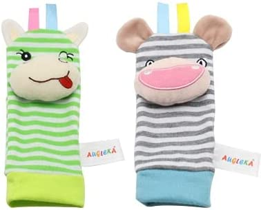 YOUMIYH Baby Rattle Toys Rattles Wrist Sensory Socks Super sale period limited Genuine Free Shipping R