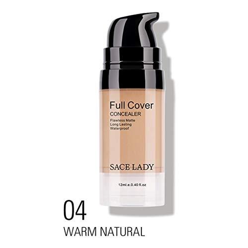 S-TROUBLE 3 Couleurs 12 ML Naturel Étanche Correcteur Maquillage Crème Visage Correcteur Maquillage Base Cosmétique