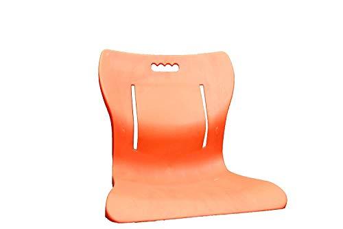 Aasan Chair Yoga Meditation Backache Healer Chair, Saffron Chair (Saffron)