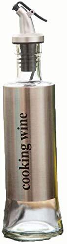 Familie keuken roestvrij staal lekvrije fles olie pot azijn sojasaus fles wijn gezin nodig heeft (Kleur: 04) 8bayfa (Color : 3)