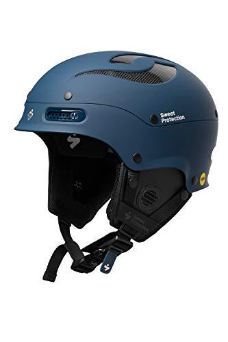 Sweet Protection Trooper II MIPS Casque de Ski/Snowboard pour Adulte Bleu Marine Taille ML