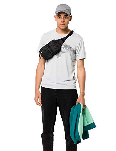 Jack Wolfskin UPGRADE Praktische Hüfttasche, Black, ONE SIZE