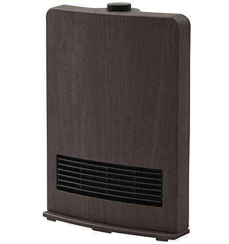 [山善] セラミックファンヒーター (セラミックヒーター) 暖房器具 1200W / 600W 2段階切替 DF-J121(BM) [メーカー保証1年]
