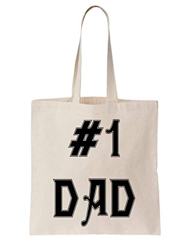 KRISSY 1 Dad Daddy Papa Father Husband Cool Family Kids Algodón Bag Tote Bag