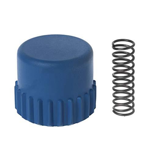 DAIMANPU Resorte de Metal de la Perilla del Tope de la Cabeza del recortador de Nylon para la Pieza de Repuesto de Husqvarna T25 / T35