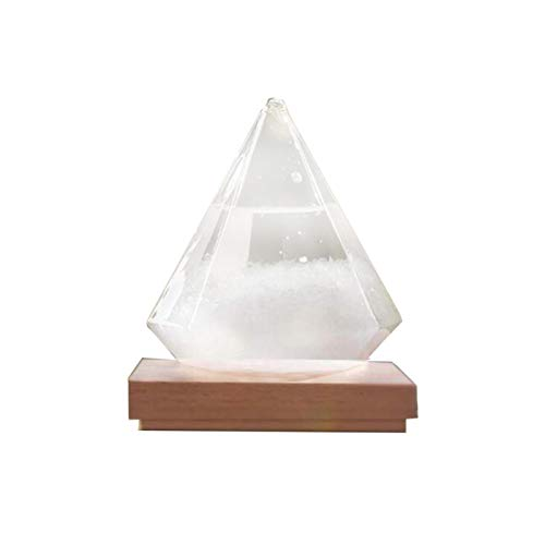 shuaiyin Storm Glass Weather Forecaster Home Wetterstation Mode Wetter Predictor Flasche, Innovative Office Desktop und Home Decor Wassertropfen Glasflasche