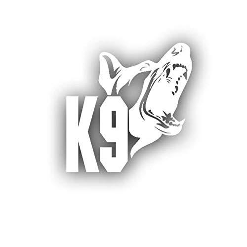 K9 Hundestaffel Hundeführer Deutscher Schäferhund Polizei 15x15cm #A4731