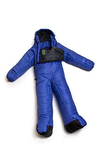 Selk'bag Lite Tragbarer Schlafsack mit Armen und Beinen, Mehrfarbig (Surf The Web), M