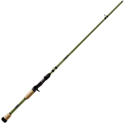 St. Croix MGC72MM Mojo Bass Glass Casting Fishing Rod with...