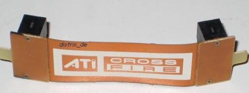Generic YanHong-ADE3-151014-81 7yh1261yh MSI XFX Palit Cross Fire flexibel NE ATI CrossFire Bridge ATI Cross 7cm flexibel e flex Cr Br¨¹cke flex e Bridge NEU OVP MSI XFX Palit