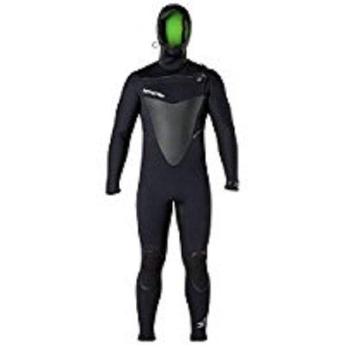 Hyperflex Wetsuits Men's Voodoo 4mm Hooded Front Zip Fullsuit