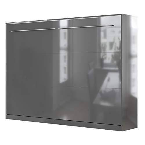 SMARTBett Standard 140x200cm Horizontal | Cama Abatible, Cama De Pared, Cama Plegable, Cama Oculta