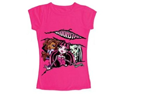 Monster High T-Shirt, Pink, 140