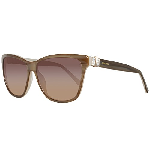Swarovski SK0121-5659F Gafas de sol, Beige/Gradient Brown, 56 para Mujer